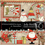 Jolly Holiday Embellishment Pack-$1.49 (Ettes and Company by Annette)