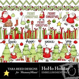 Hoho holiday emb medium