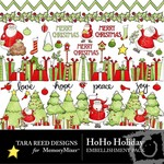HoHo Holiday Embellishment Pack-$1.99 (Tara Reed Designs)