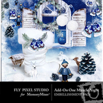 One Miracle Night Add On Embellishment Pack-$2.49 (Fly Pixel Studio)