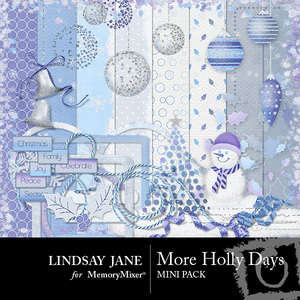 More holly days mini pack medium