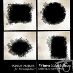 Winter Edge Effects Pack-$2.49 (Indigo Designs)