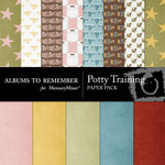 Potty Training Paper Pack-$3.99 (Albums to Remember)