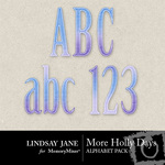 Holly Days LJ Alphabet Pack-$1.49 (Lindsay Jane)