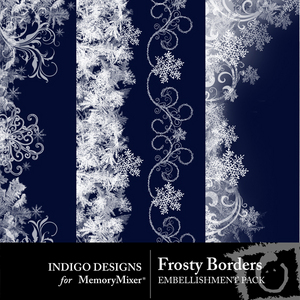 Frosty borders medium