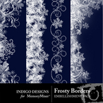 Frosty Border Pack-$2.25 (Indigo Designs)