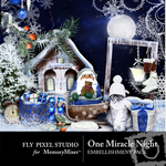 One Miracle Night Embellishment Pack-$2.99 (Fly Pixel Studio)