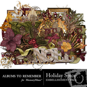 Holiday spice emb medium