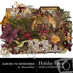 Holiday Spice Embellishment Pack-$2.99 (Albums to Remember)