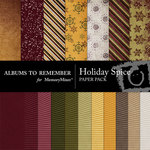 Holiday Spice Paper Pack-$3.99 (Albums to Remember)