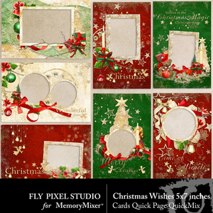 Christmaswish cards medium