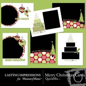 Merry christmas card qm medium