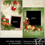 Christmas Cards Quick Page QuickMix Vol 1-$0.75 (Fly Pixel Studio)