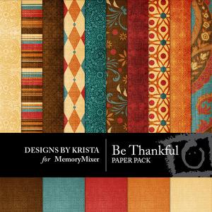 Be thankful pp medium