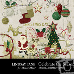 Celebrate the Season Embellishment Pack-$3.99 (Lindsay Jane)