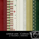 Celebrate the Season Paper Pack-$3.99 (Lindsay Jane)