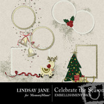 Celebrate the Season Frame Pack-$1.99 (Lindsay Jane)