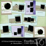 FrostBite Cards QuickMix-$2.49 (Ettes and Company by Fayette)