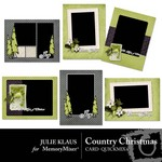Country Christmas Cards QuickMix-$2.49 (Julie Klaus)