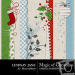 Magic of christmas borders small