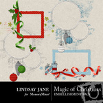 Magic of Christmas Frame Pack-$1.99 (Lindsay Jane)