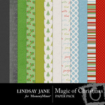 Magic of Christmas Paper Pack-$3.99 (Lindsay Jane)