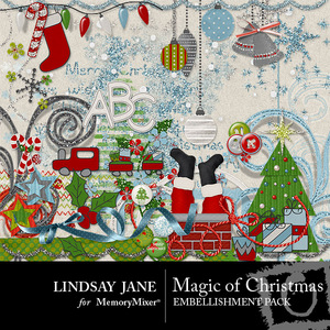Magic of christmas emb medium