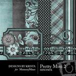 Pretty Mini Pack 2-$3.49 (Designs by Krista)