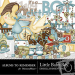 Little Baby Boy Embellishment Pack-$2.99 (Albums to Remember)