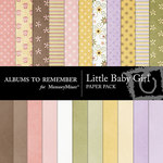 Little Baby Girl Paper Pack-$3.99 (Albums to Remember)