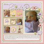 Little baby girl emb samp small