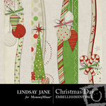 Christmas day borders small