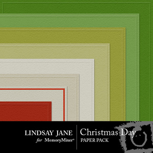 Christmas day embossed pp medium