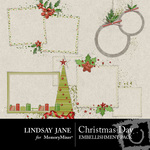 Christmas Day Frame Pack-$1.99 (Lindsay Jane)