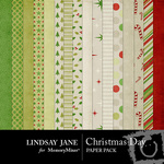 Christmas Day Paper Pack-$3.99 (Lindsay Jane)