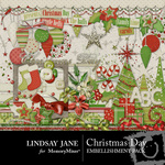 Christmas Day Embellishment Pack-$3.99 (Lindsay Jane)