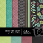 Chloe Paper Pack-$3.99 (Designs by Krista)