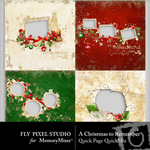 A Christmas to Remember Quick Page QuickMix-$3.49 (Fly Pixel Studio)