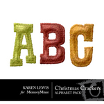 Christmas Crackers Alphabet Pack-$0.99 (Karen Lewis)