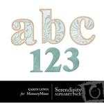 Serendipity Alphabet Pack-$1.00 (Karen Lewis)