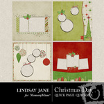 Christmas Day Quick Page QuickMix-$3.49 (Lindsay Jane)