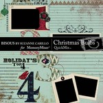 Christmas Bulbs QuickMix-$4.49 (Bisous By Suzanne Carillo)