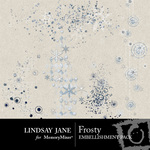 Frosty Embossed Scatterz Pack-$1.99 (Lindsay Jane)