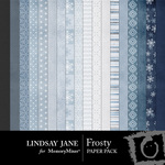 Frosty Paper Pack-$3.49 (Lindsay Jane)