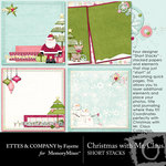 Christmas With Mr Claus ShortStack Paper Pack-$1.99 (Ettes and Company by Fayette)