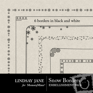 Snow border pack medium