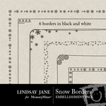 Snow Border Pack-$1.99 (Lindsay Jane)