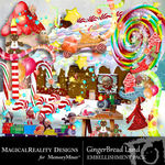GingerBread Land Embellishment Pack-$1.75 (MagicalReality Designs)