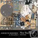 New Years Eve Mini Pack-$3.49 (Albums to Remember)