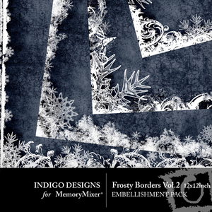 Frosty borders vol 2 medium